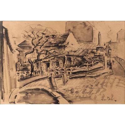 Le vieux Montmartre au début XXème.