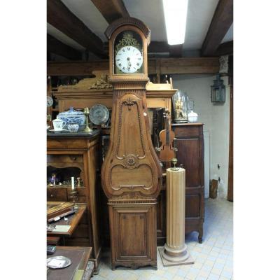 Horloge De Parquet 18ème Sonnerie Aux Quarts