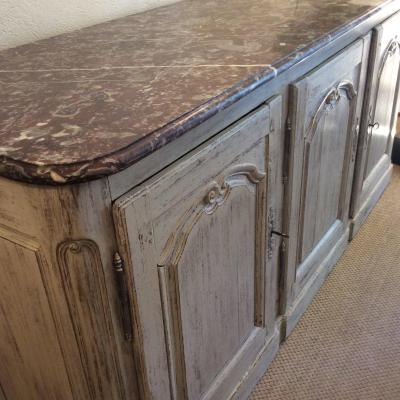 Patinated Hunting Buffet