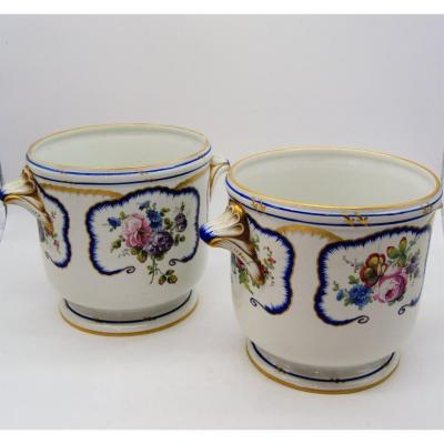 Pair Of Porcelain Jar, Nineteenth