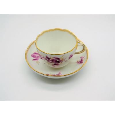 Meissen Porcelain Cup - XIXth