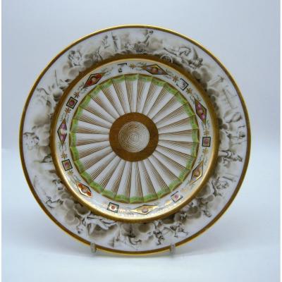 Porcelain Plate - Nast, Circa 1810