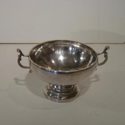 Coupe De Mariage De 1832 En Argent Massif