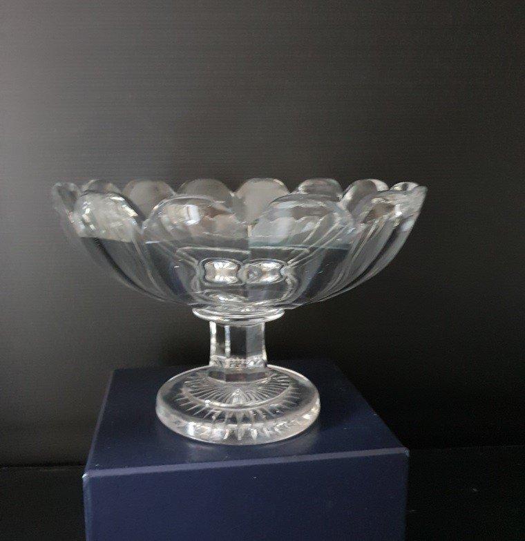Coupe En Cristal Taillé d'époque Empire-photo-4