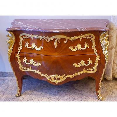 Small Chest Of 2 Drawers Without Traverse. Ref: 79