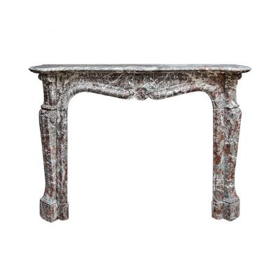 Louis XV Marble Fireplace (hv2335)
