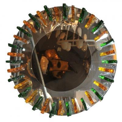 Magnifique miroir de Fontana Arté attribué à Max Ingrand