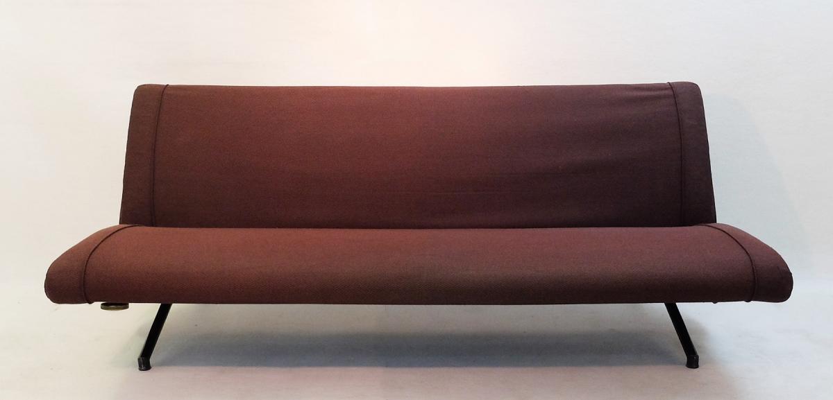 Sofa Daybed D70 de Osvaldo Borsani Pour Tecno