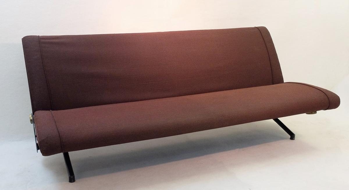 Sofa Daybed D70 de Osvaldo Borsani Pour Tecno -photo-2