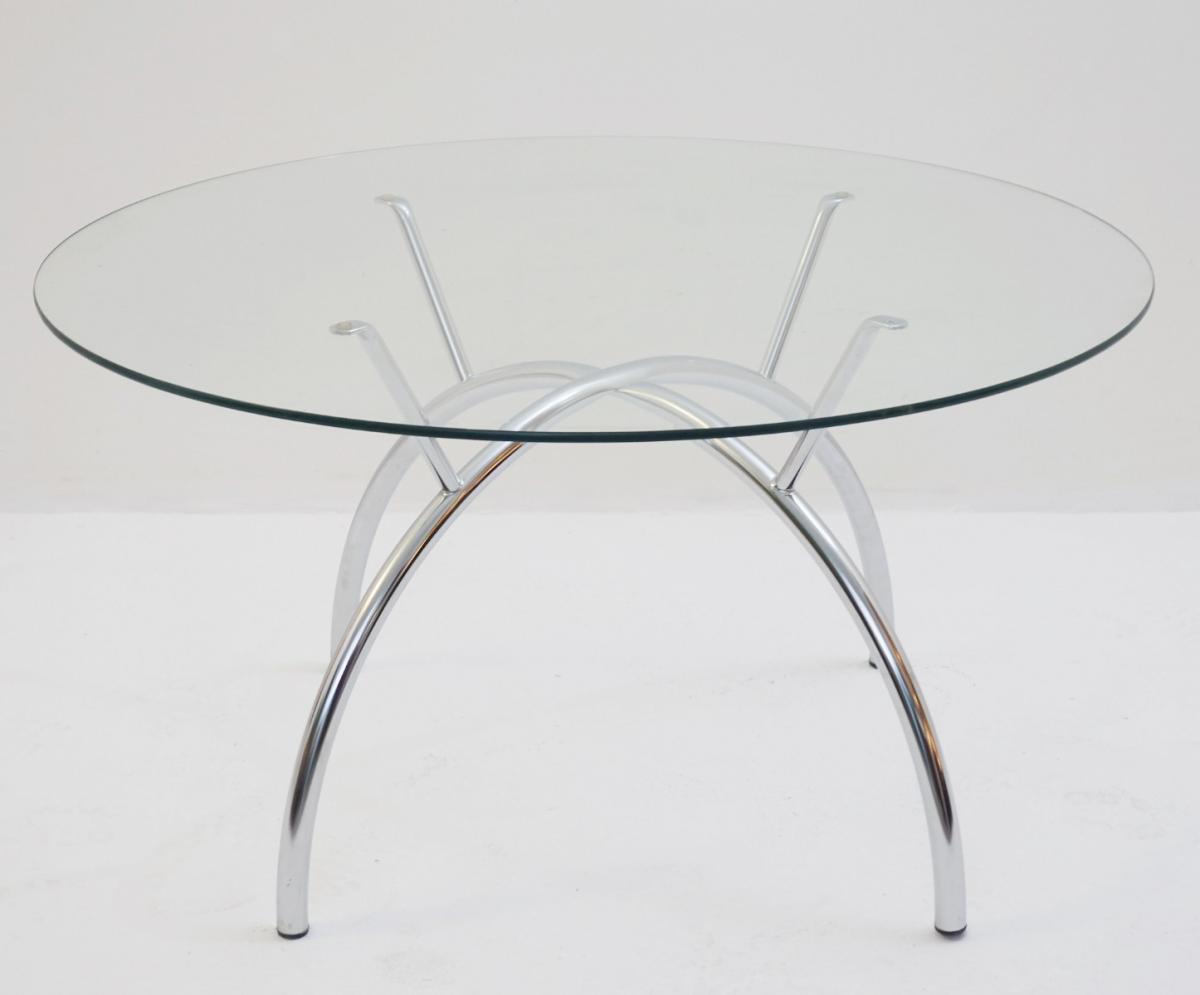 Table Basse En Chrome