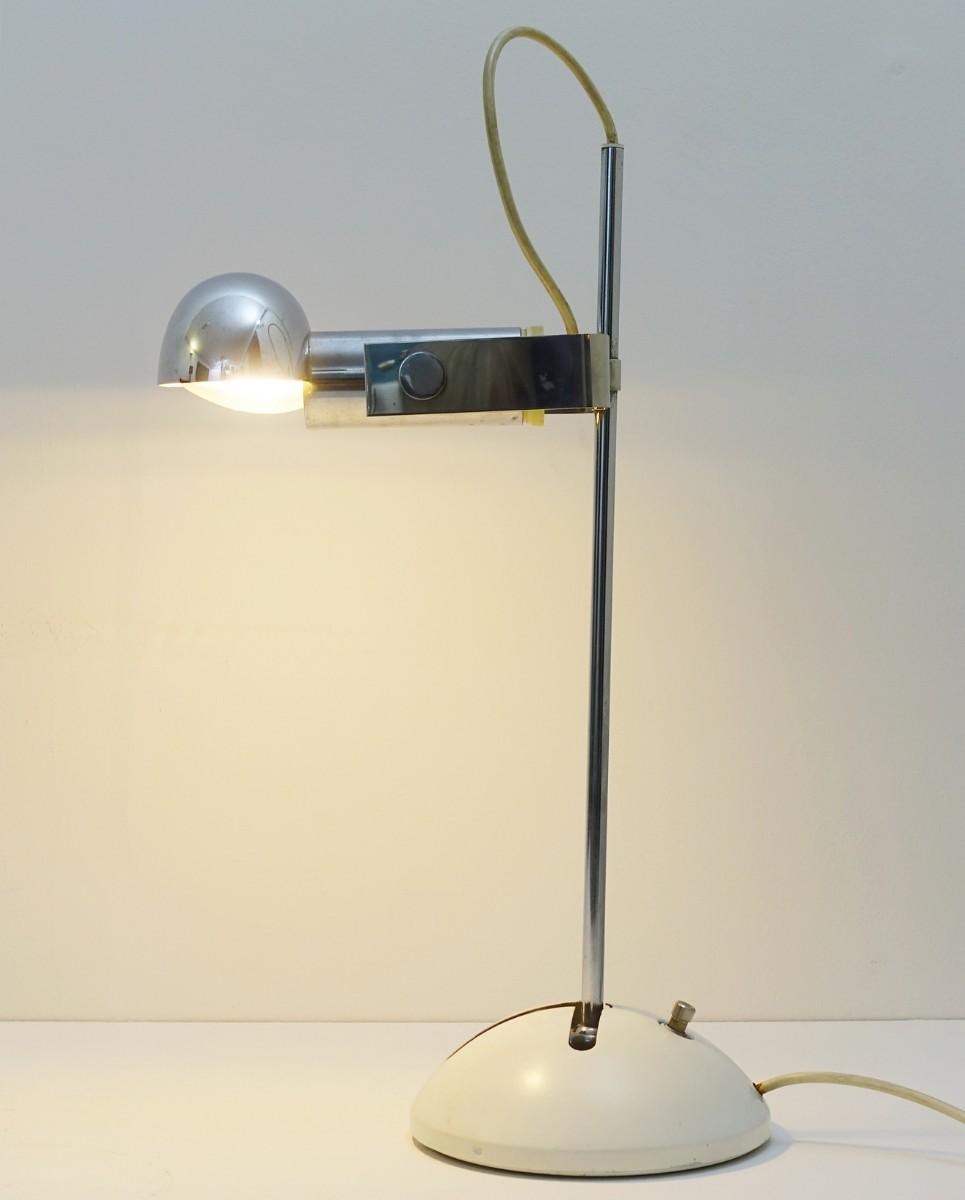 Robert Sonneman Pour Luci Cinisello - Lampe De Bureau Ou De Table Modèle T395
