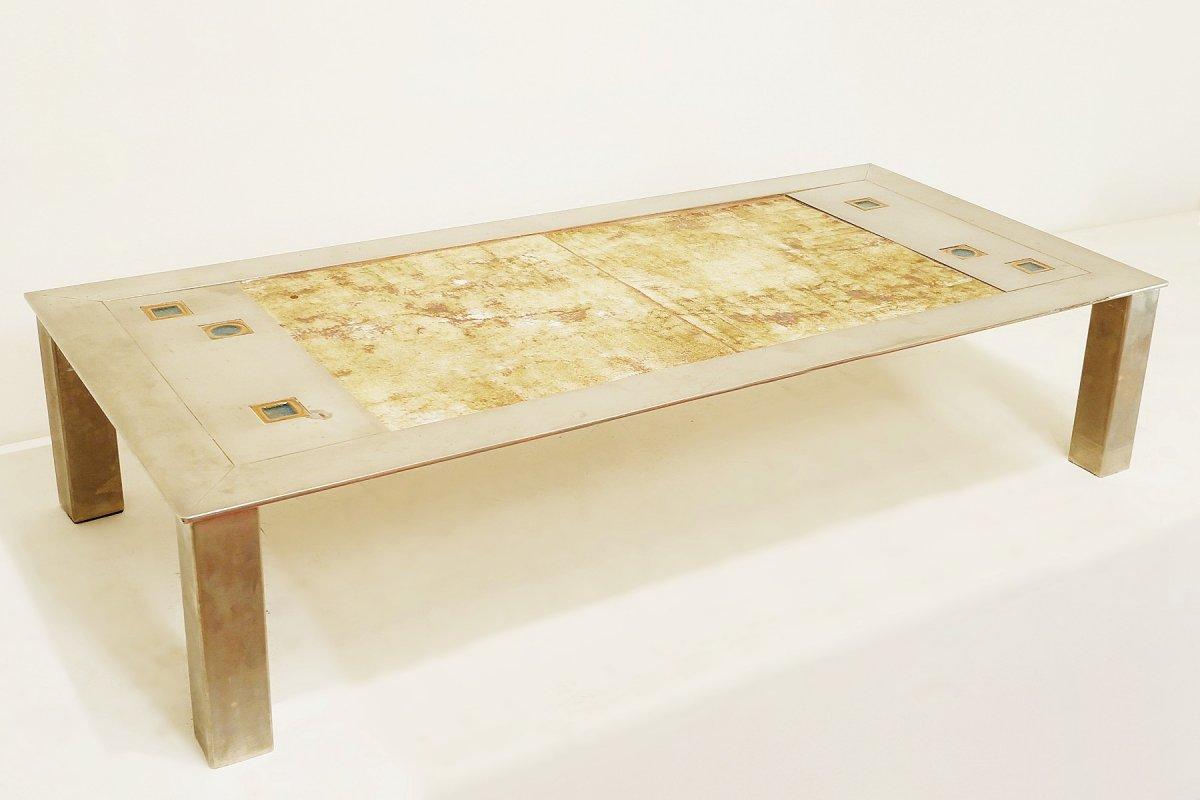 Table Basse En Céramique - Française - 1970