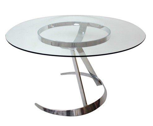 Table De Salle à Manger Modèle Space Age Scimitar Par Boris Tabacoff Pour Mobilier Modular