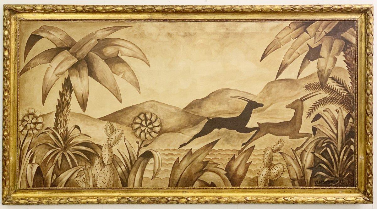 Oil On Canvas Signed W. Vandenborre