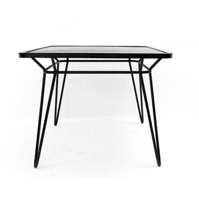 Square Wrought Iron Table By Ico Parisi