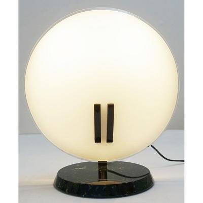 Grande Lampe De Bureau En Perle Par Bruno Gecchelin Pour Oluce, 1980s