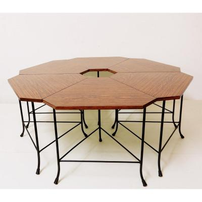Set Of Small Tables In Formica