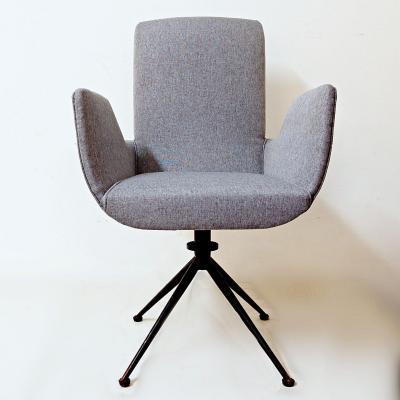 Chaise De Bureau Avec Nouveau Rembourrage Bleu / Gris