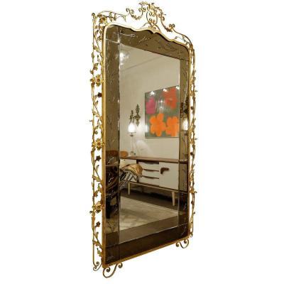 Miroir Doré De Luigi Colli