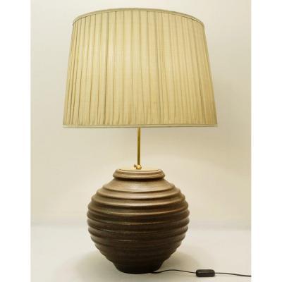 Grande Lampe De Table En Céramique