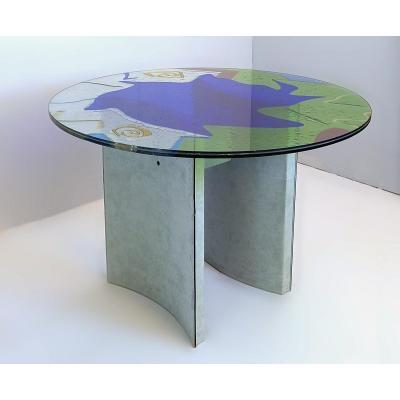 Table Carlo Malnati Ø 110 Cm