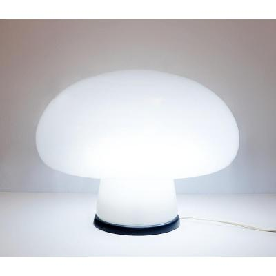 Lampe De Table Champignon En Verre De Murano
