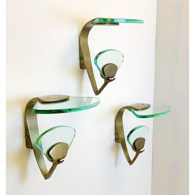 Model 1771 Hangers By Max Ingrand For Fontana Arte, 1950s - 3 Available