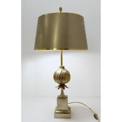 Grenade Table Lamp From Maison Charles 1960
