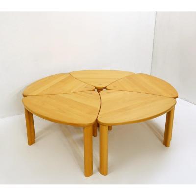 Ensemble De 5 Tables d'Appoint - Snedkergaarden - 2005