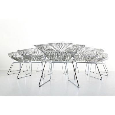 Chaises Diamant De Harry Bertoia Pour Knoll International