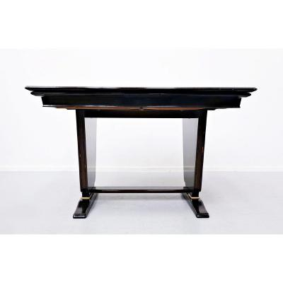 Extendable Dining Table By Vittorio Dassi 1950s