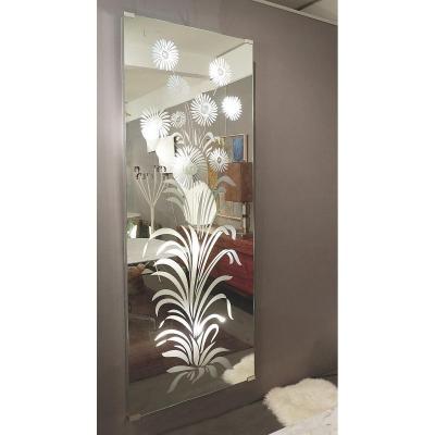 Miroir Porte-manteau Italien Illuminé