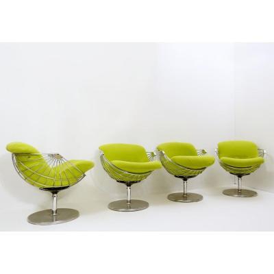 """atomic"" Armchairs By Rudi Verelst"