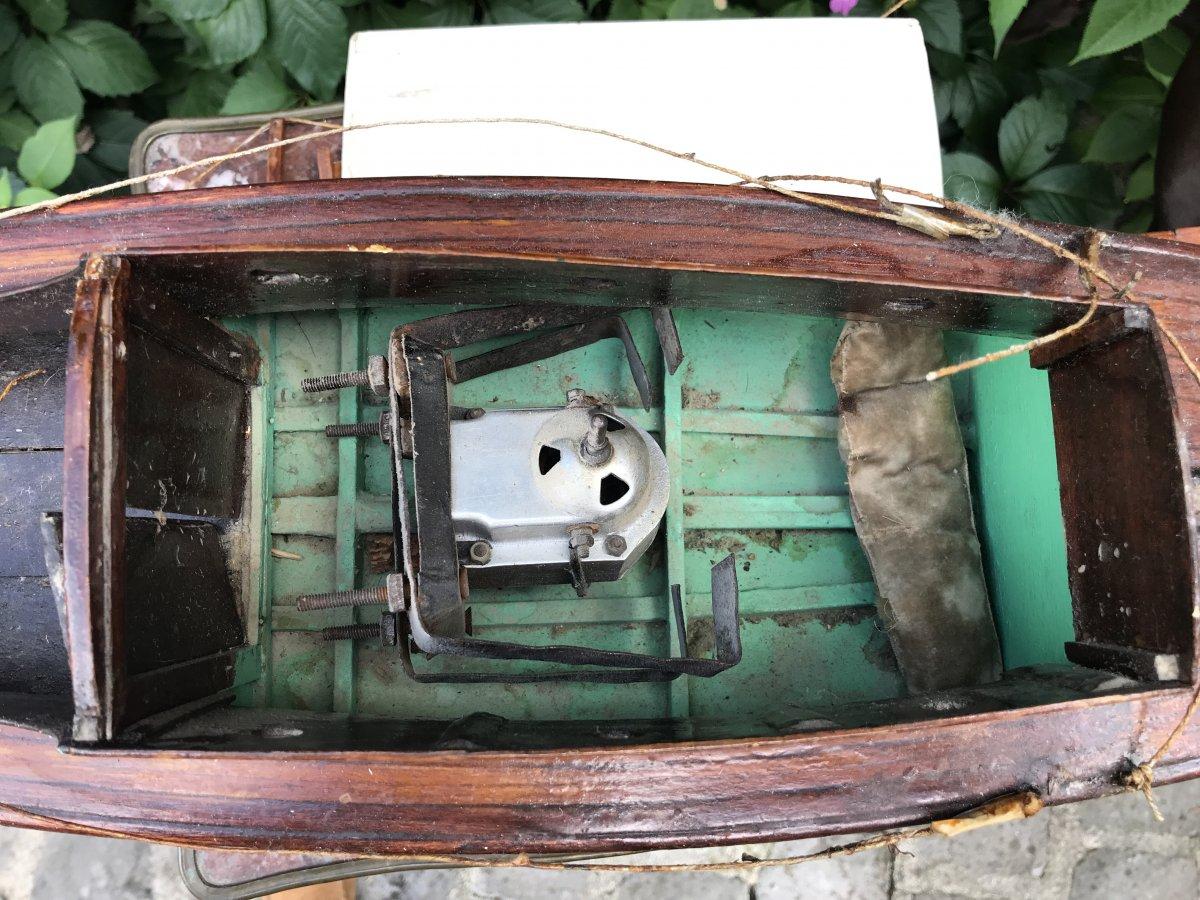 Maquette De Bateau Voilier En Bois-photo-8