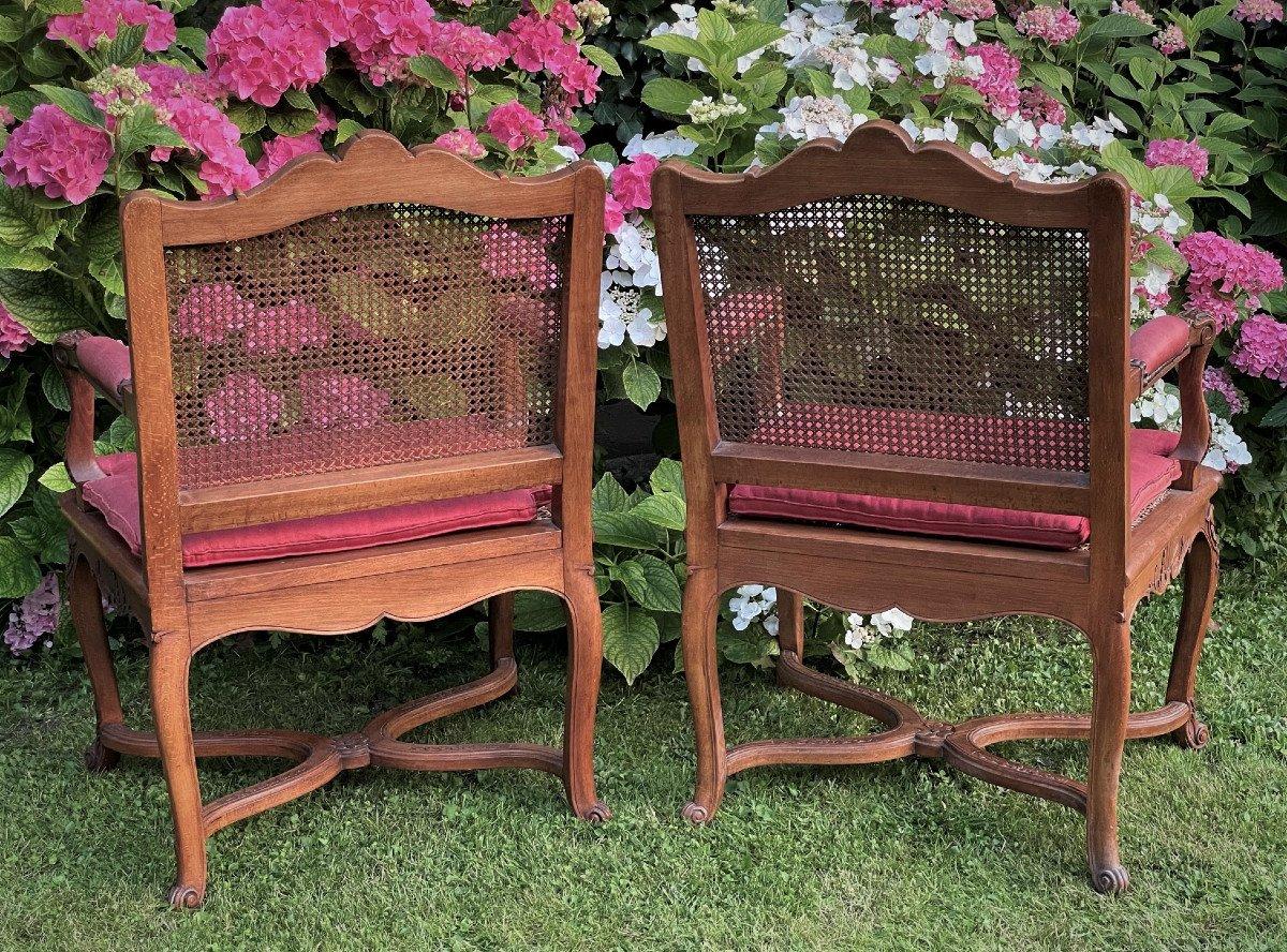 Pair Of Regency Style Armchairs-photo-1