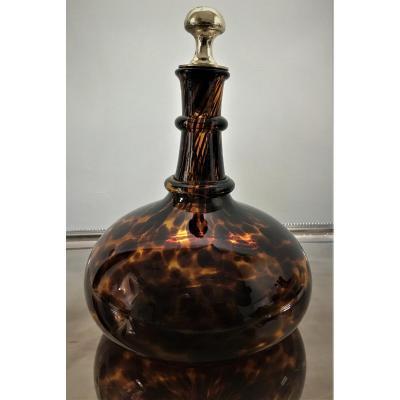 Dior, j'adore… élégante carafe à vin en verre écaille soufflé Murano