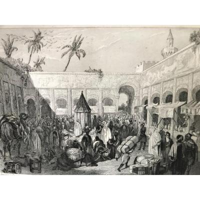 Histoire de l'Algérie française 1846, deux volumes édition originale illustrée