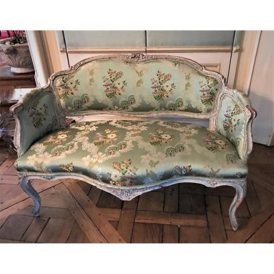 Small Rococo Sofa, Louis XV Period