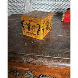 Boîte, coffret d'époque XVIIIème décor au chinois