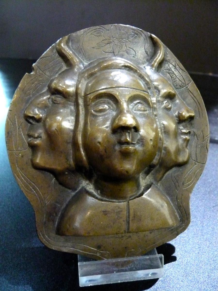 Plaqque Bronze