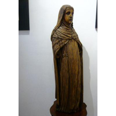 Religious Wooden Sculpture