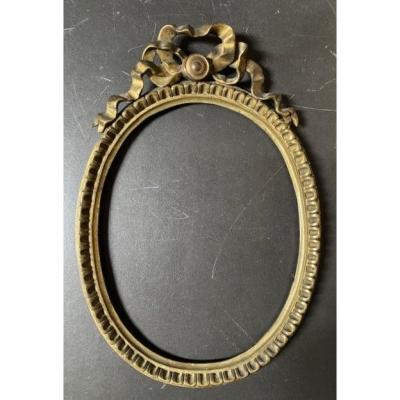 Oval Bronze Frame