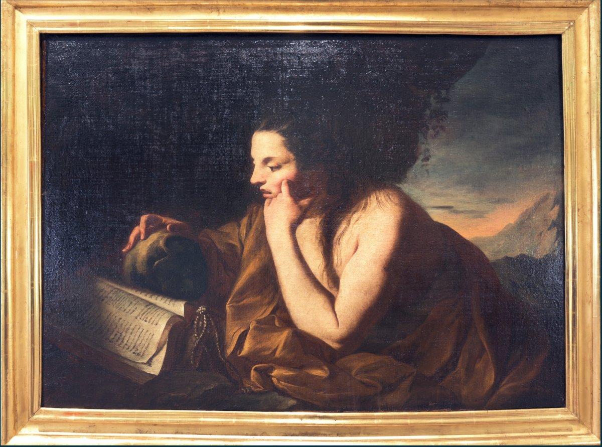 Ecole napolitaine 1660-1700, La Pénitente Marie Madeleine