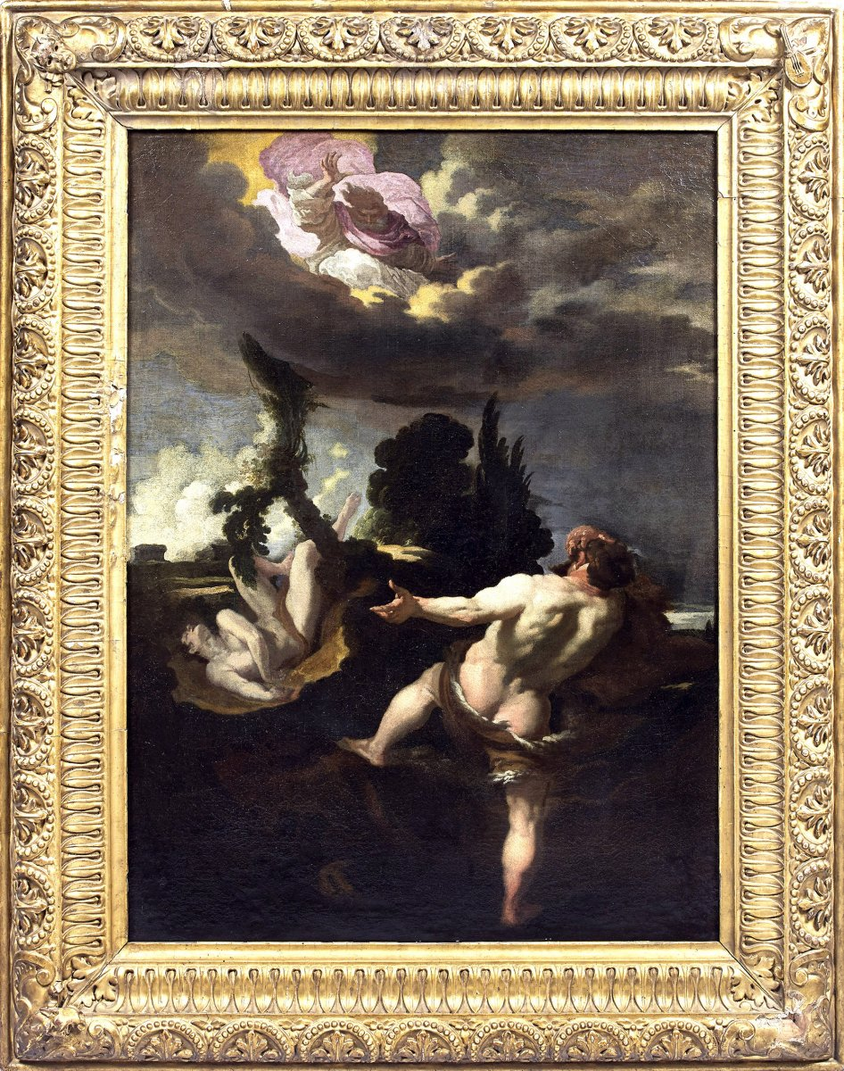 Johann LISS (Attrib.), Le maudit de Caïn