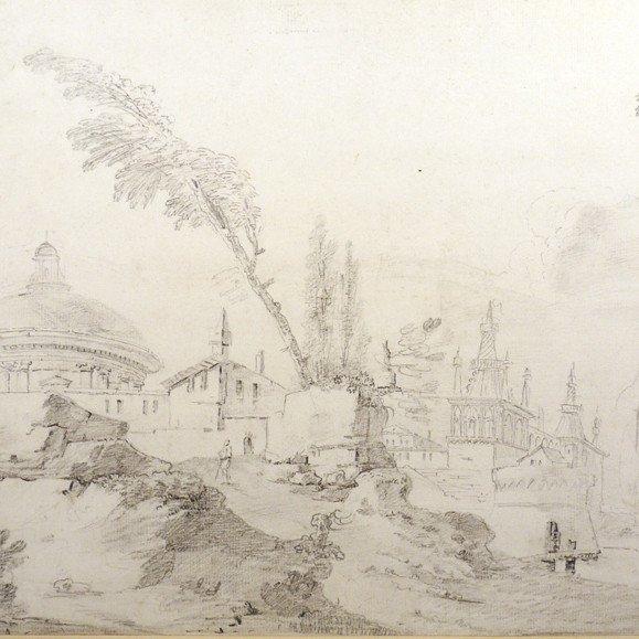 Hilaire, Circle,  Capriccio With Turkish Architecture-photo-2