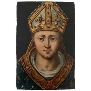 Ludovico Brea, Attributed To. Saint Louis De Toulouse
