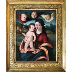 Cima Da Conegliano, School, The Virgin And The Child