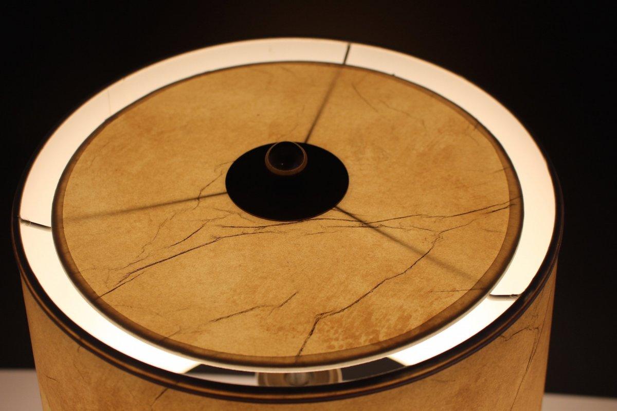 Travertine Lamp, 1970's-photo-6