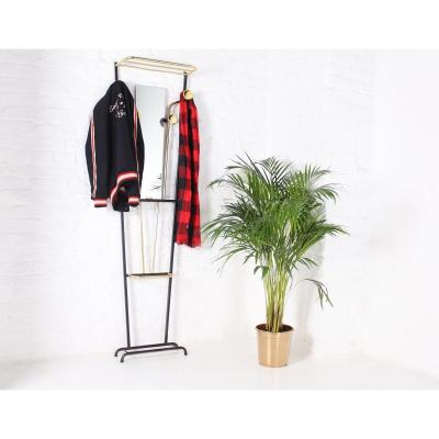 French Modernist Cloakroom Coat Rack