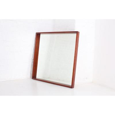 Large Mirror In Rosewood Alfred Hendrickx.